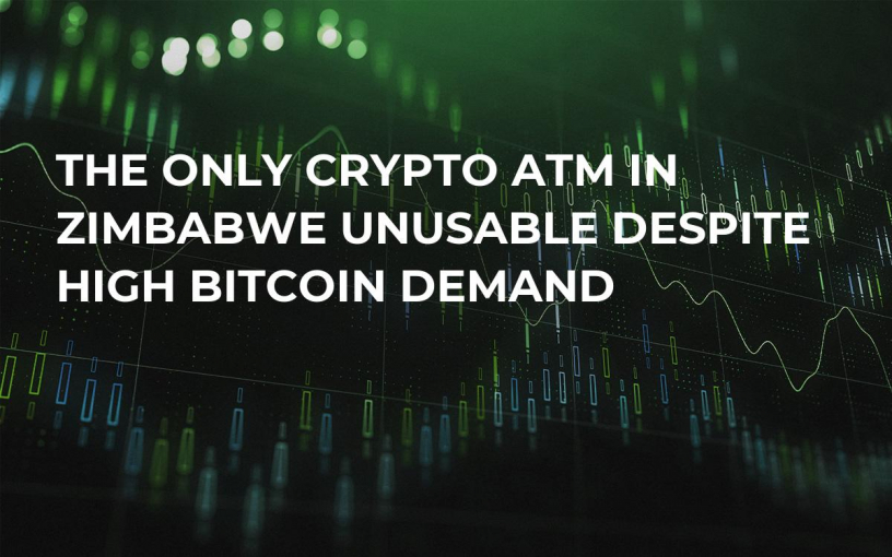 The Only Crypto ATM in Zimbabwe Unusable Despite High Bitcoin Demand