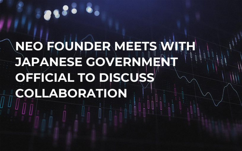 NEO Founder Meets With Japanese Government Official to Discuss Collaboration