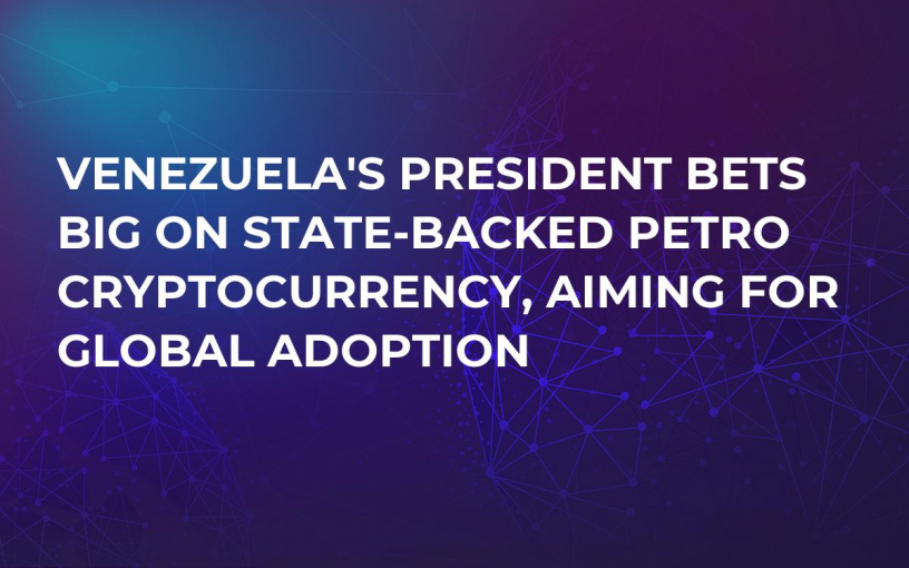 Venezuela's President Bets Big on State-Backed Petro Cryptocurrency, Aiming For Global Adoption