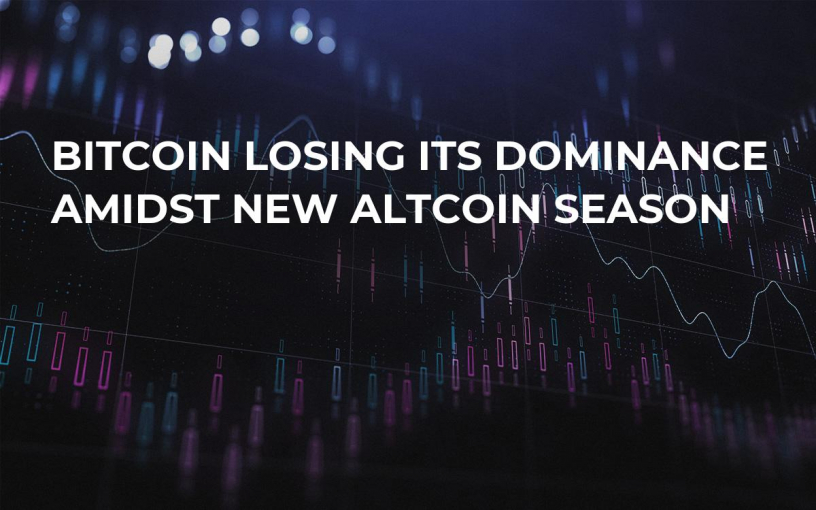 Bitcoin Losing Its Dominance Amidst New Altcoin Season