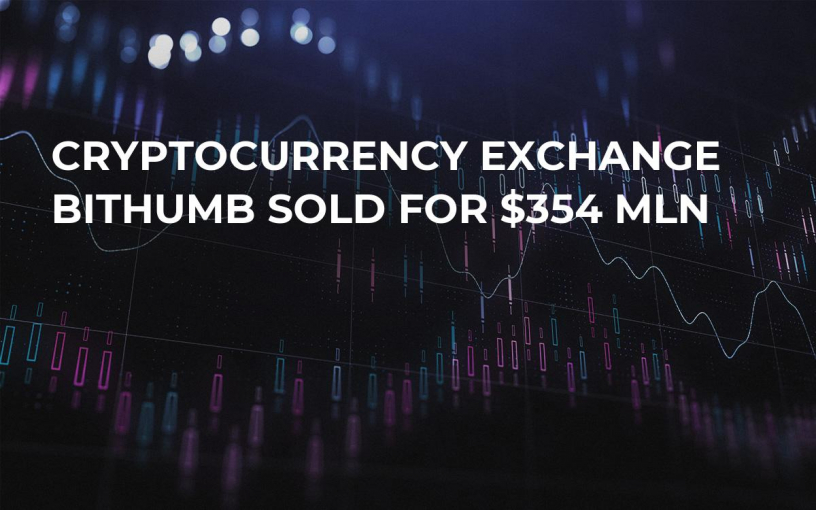 Cryptocurrency Exchange Bithumb Sold For $354 Mln