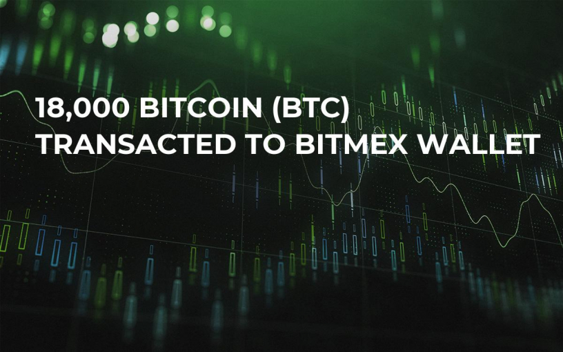 18,000 Bitcoin (BTC) Transacted to BitMEX Wallet