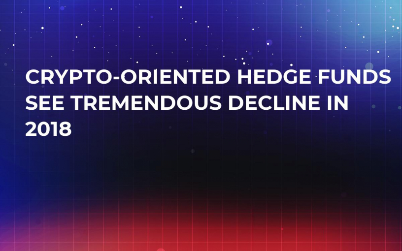 Crypto-Oriented Hedge Funds See Tremendous Decline in 2018