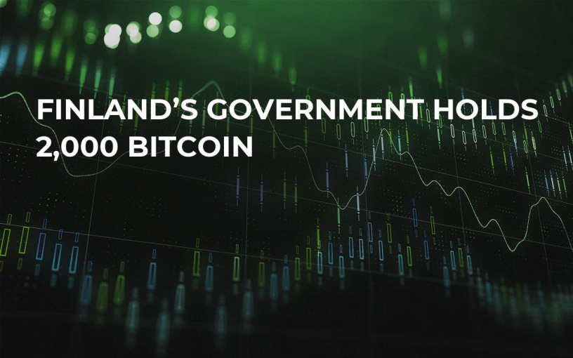 Finland's Government Holds 2,000 Bitcoin