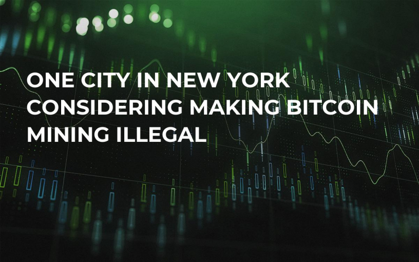 One City in New York Considering Making Bitcoin Mining Illegal