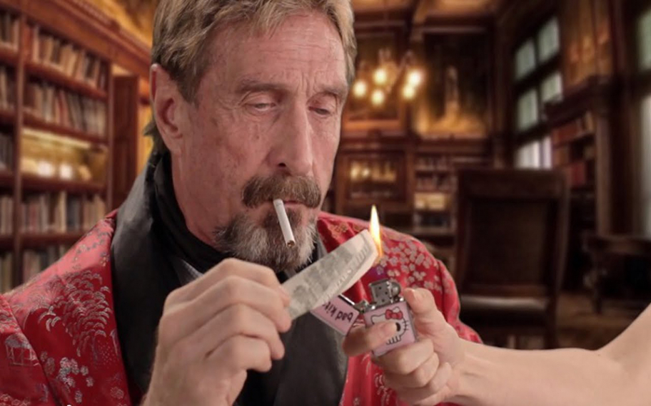 John McAfee Is No Longer Promoting His Favorite Coin