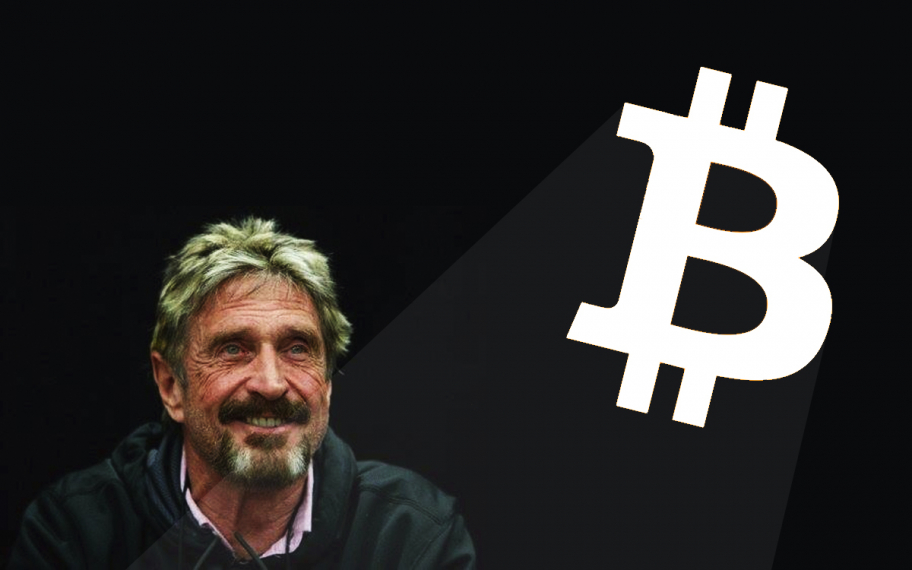 Bitcoin Lover John McAfee Promises to Reveal Data Compromising US Government Unless Feds Leave Him Alone
