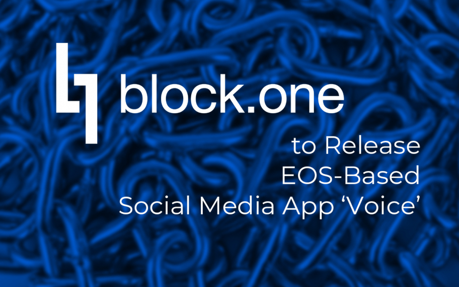 Block.One to Release EOS-Based Social Media App 'Voice'