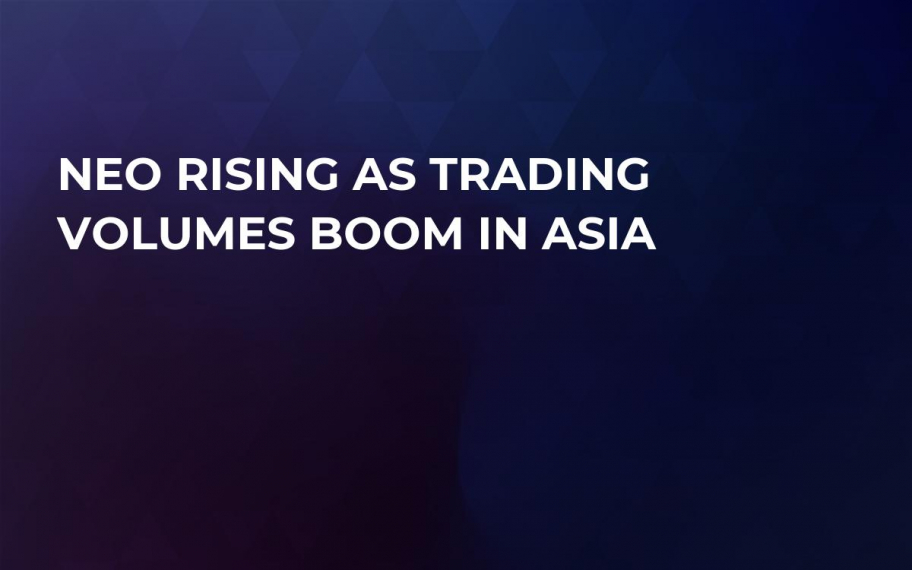 NEO Rising as Trading Volumes Boom in Asia
