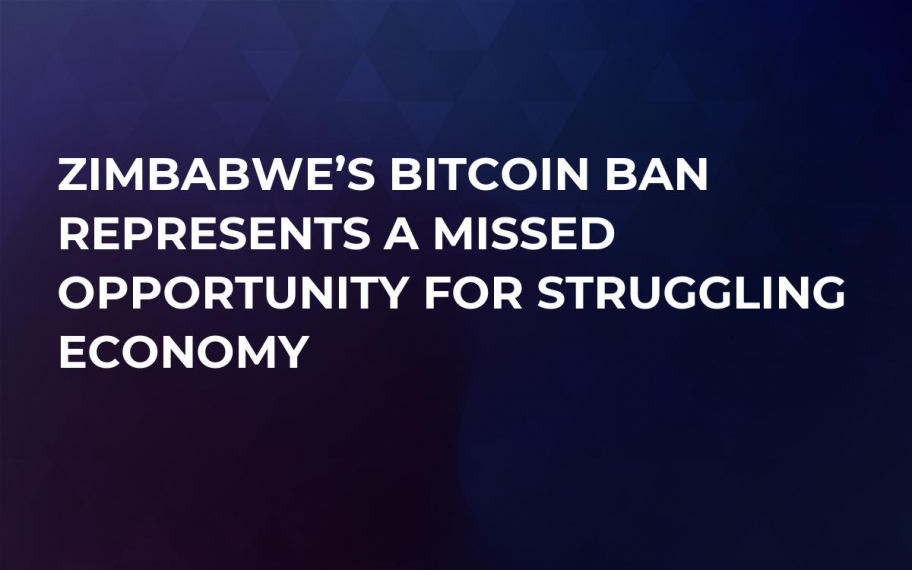Zimbabwe's Bitcoin Ban Represents a Missed Opportunity For Struggling Economy