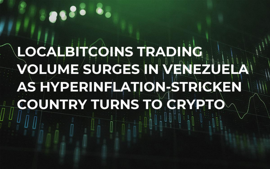 LocalBitcoins Trading Volume Surges in Venezuela as Hyperinflation-Stricken Country Turns to Crypto