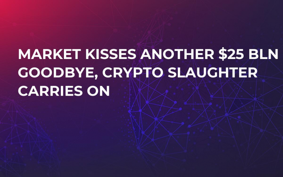 Market Kisses Another $25 Bln Goodbye, Crypto Slaughter Carries On