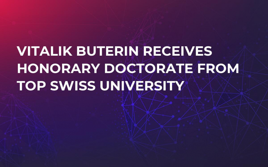 Vitalik Buterin Receives Honorary Doctorate from Top Swiss University