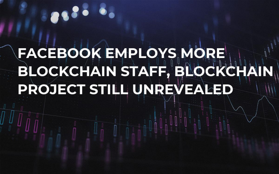 Facebook Employs More Blockchain Staff, Blockchain Project Still Unrevealed