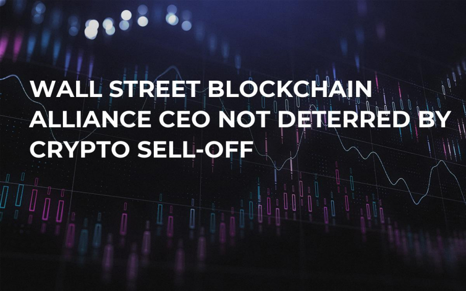 Wall Street Blockchain Alliance CEO Not Deterred by Crypto Sell-Off