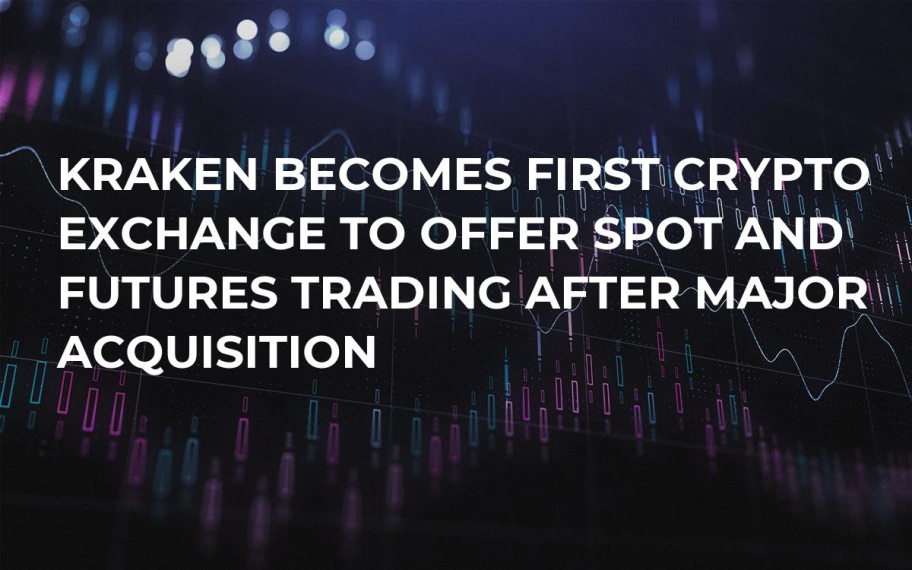 Kraken Becomes First Crypto Exchange to Offer Spot and Futures Trading After Major Acquisition