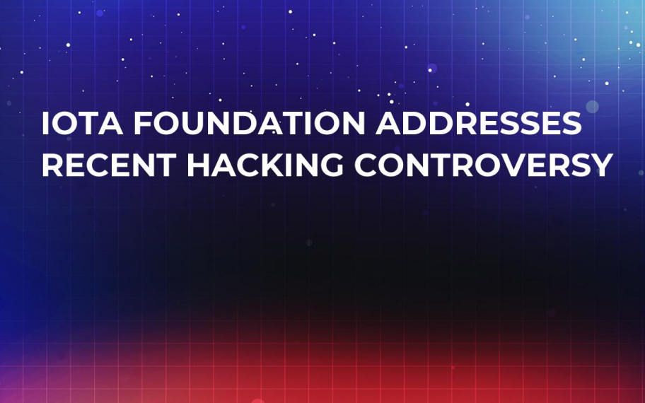 IOTA Foundation Addresses Recent Hacking Controversy