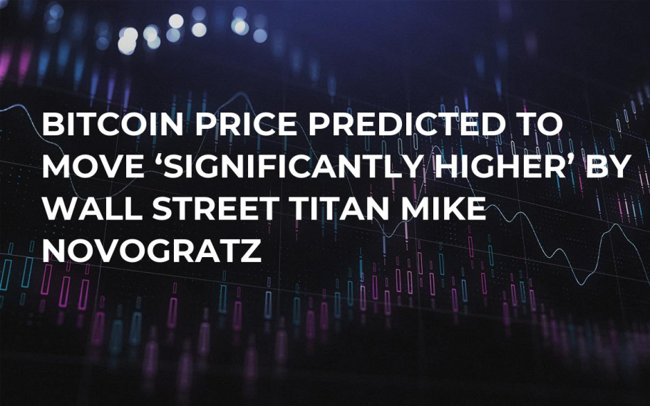 Bitcoin Price Predicted to Move 'Significantly Higher' by Wall Street Titan Mike Novogratz