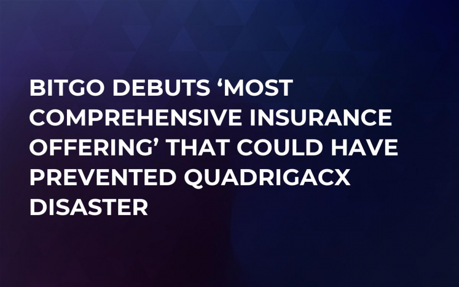 BitGo Debuts 'Most Comprehensive Insurance Offering' That Could Have Prevented QuadrigaCX Disaster