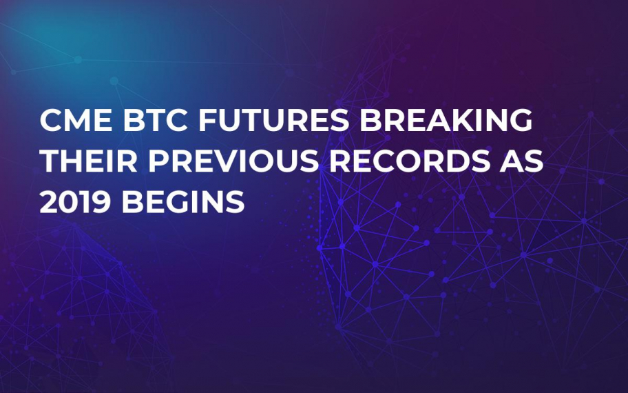 CME BTC Futures Breaking Their Previous Records as 2019 Begins