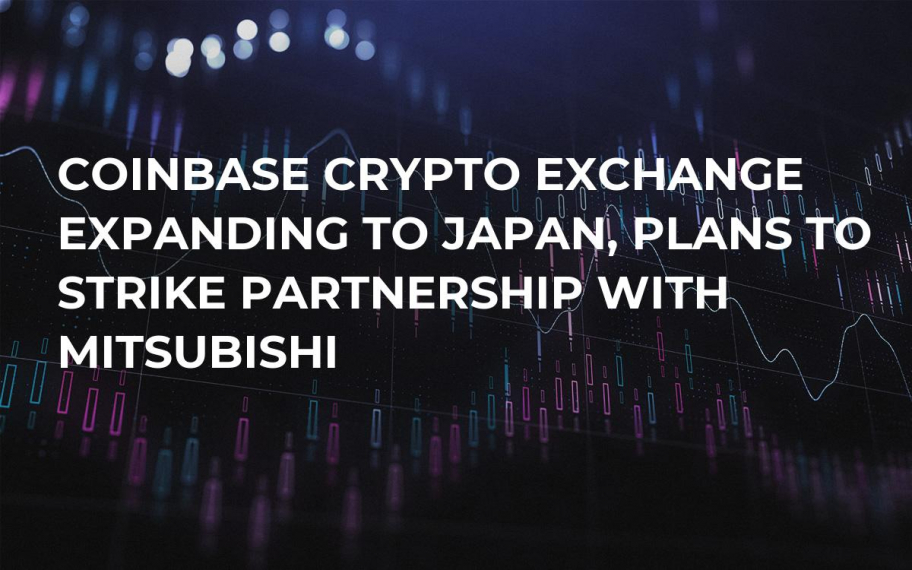 Coinbase Crypto Exchange Expanding to Japan, Plans to Strike Partnership With Mitsubishi