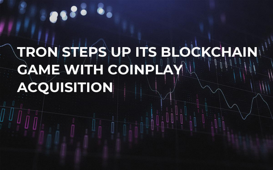 Tron Steps Up Its Blockchain Game with CoinPlay Acquisition