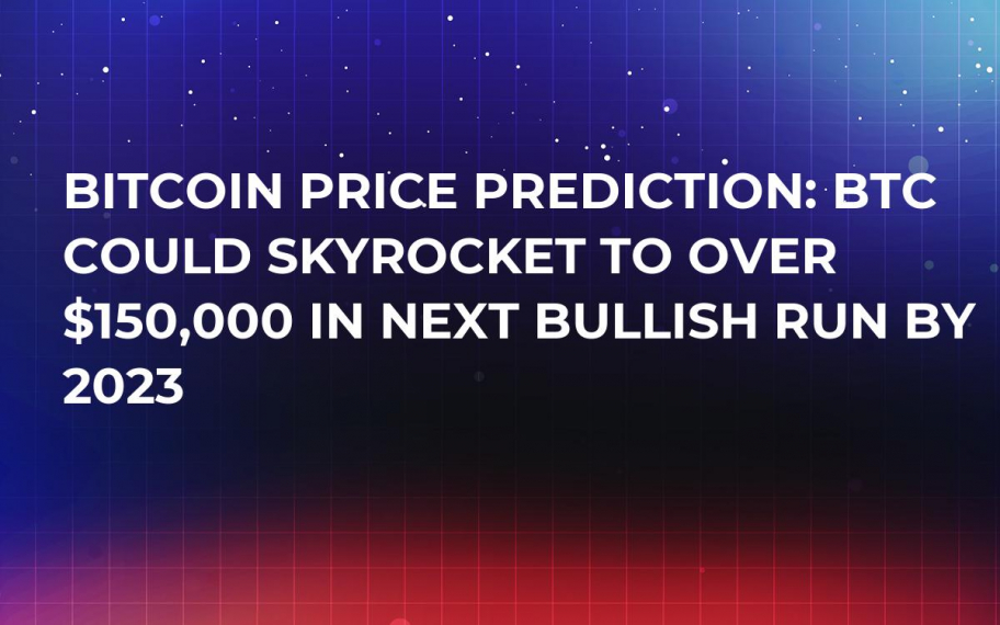 Bitcoin Price Prediction: BTC Could Skyrocket to over $150,000 in Next Bullish Run by 2023