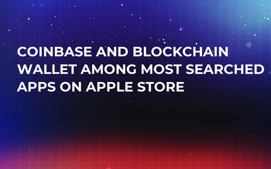 Coinbase and Blockchain Wallet Among Most Searched Apps on Apple Store