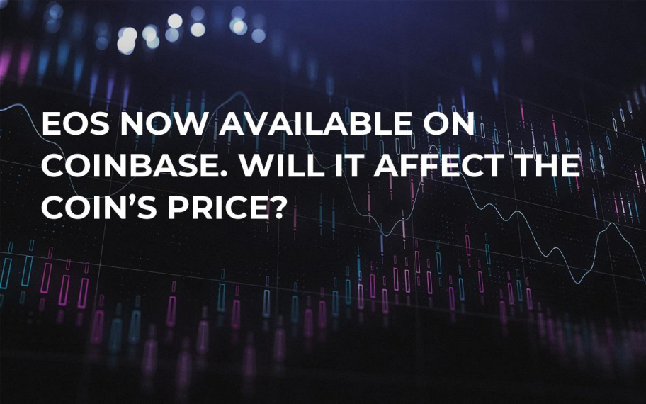 EOS Now Available on Coinbase. Will It Affect the Coin's Price?