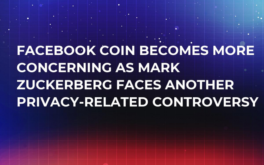 Facebook Coin Becomes More Concerning as Mark Zuckerberg Faces Another Privacy-Related Controversy