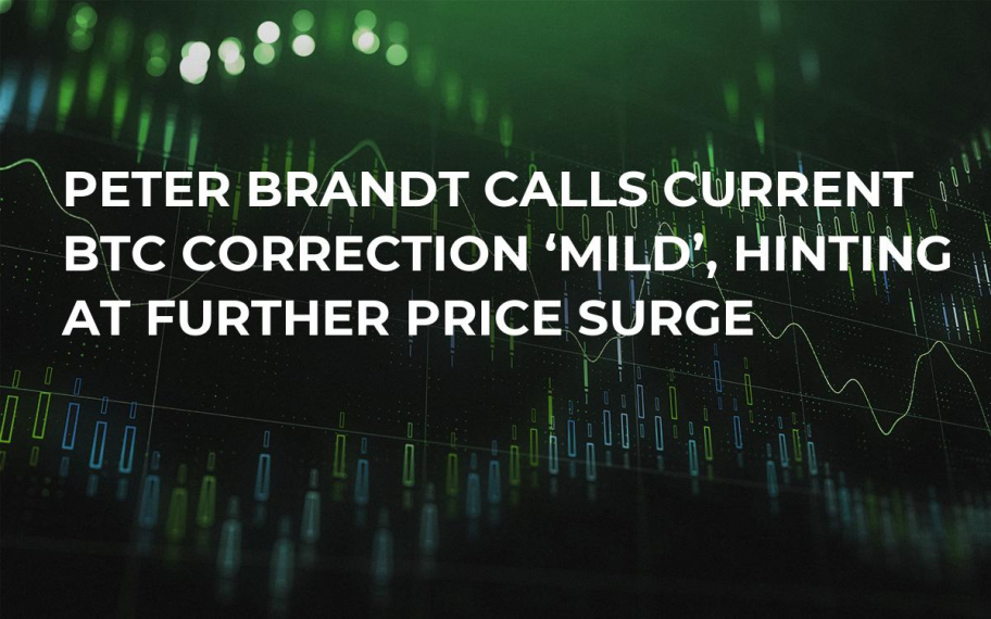 Peter Brandt Calls Current BTC Correction 'Mild', Hinting at Further Price Surge