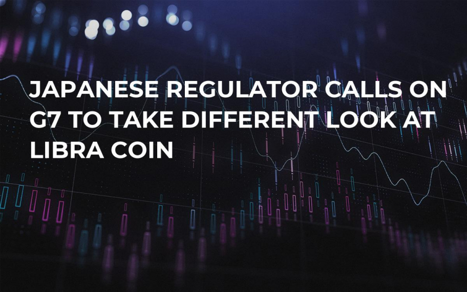 Japanese Regulator Calls on G7 to Take Different Look at Libra Coin