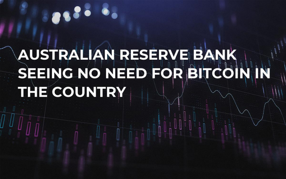 Australian Reserve Bank Seeing No Need for Bitcoin in the Country