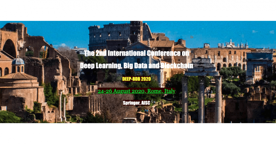 The 2nd International Conference on Deep Learning, Big Data and Blockchain