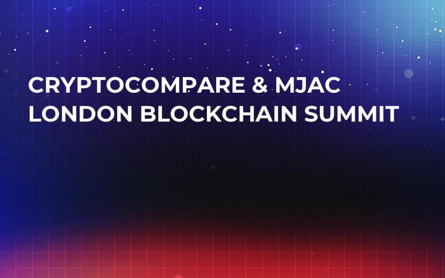 CryptoCompare & MJAC London Blockchain Summit
