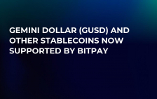 Gemini Dollar (GUSD) and Other Stablecoins Now Supported by BitPay