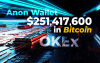 $251,417,600 in Bitcoin Wired Between OKEx and Anon Wallets While BTC Is Testing $11,000